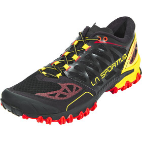 La Sportiva Bushido Running Shoes Men Black/Yellow